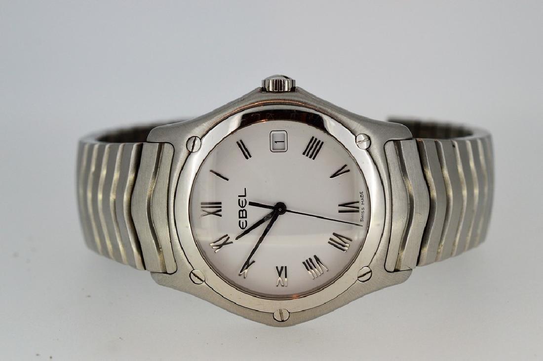 Gent's Modern Design EBEL Wristwatch