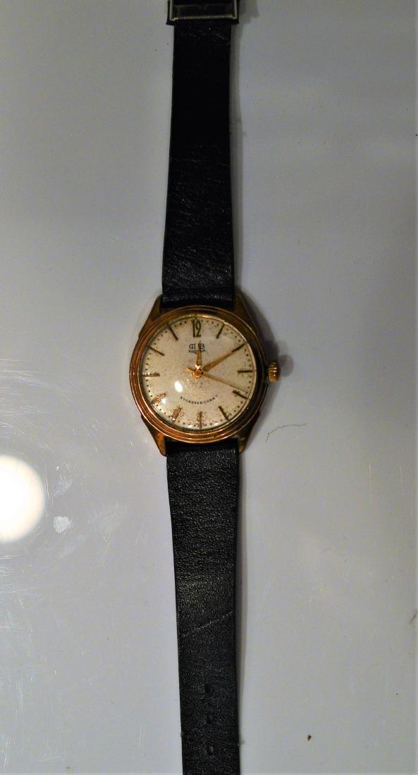 GB Stossge Sichert Winder Wristwatch