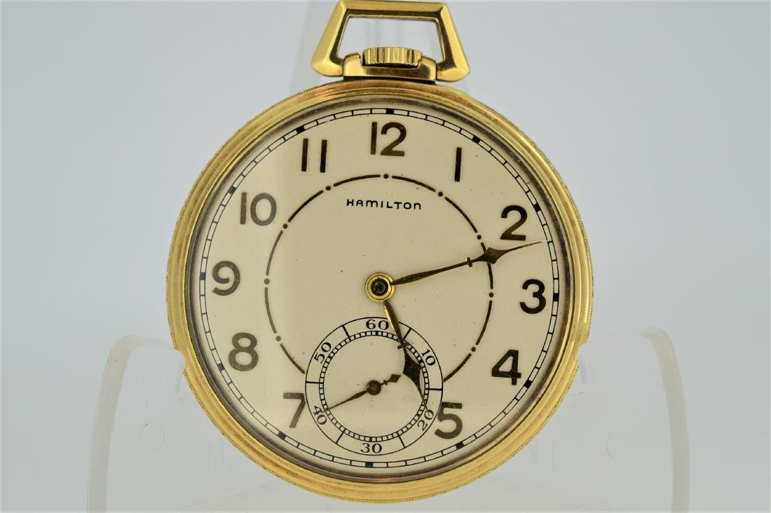 Hamilton 917 Pocketwatch with Display Back