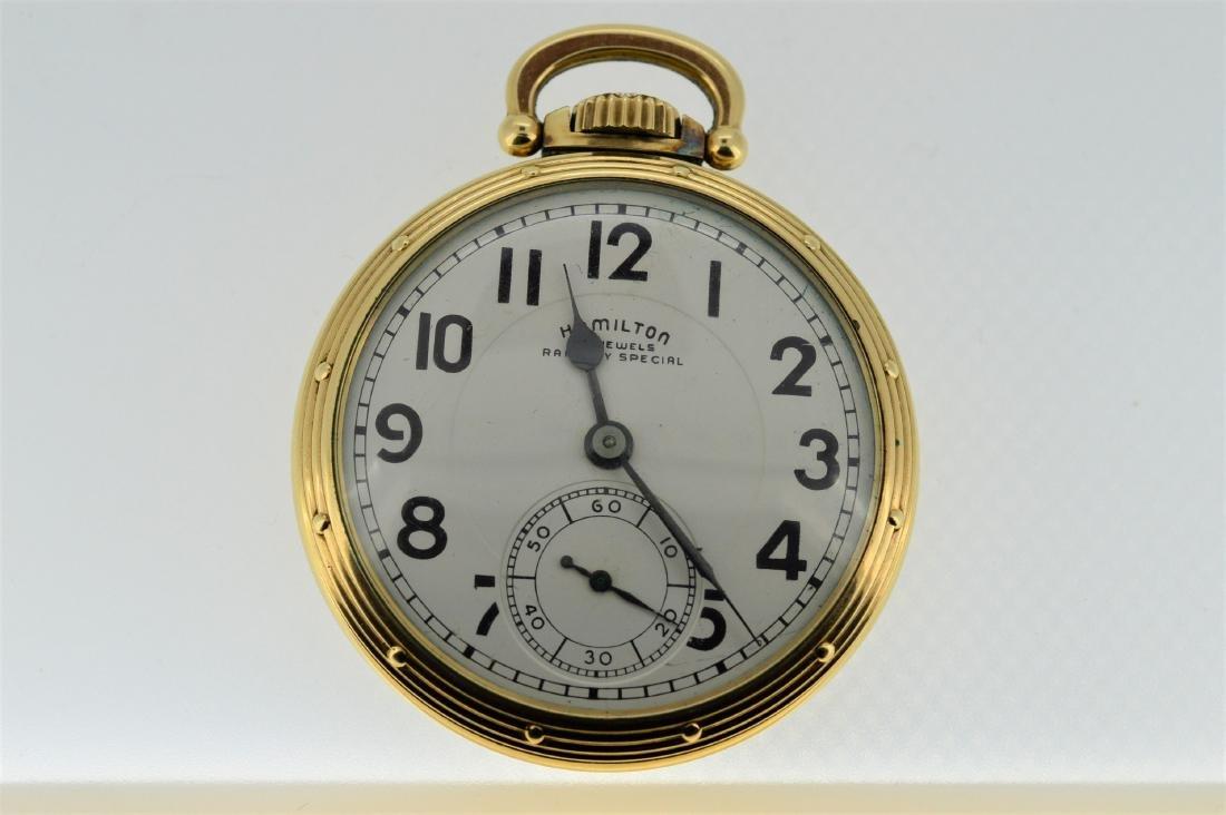 Hamilton Railway Special Pocketwatch