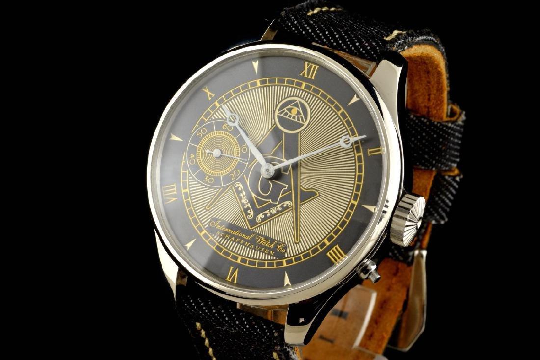 IWC International Watch Co Schaffhausen Masonic