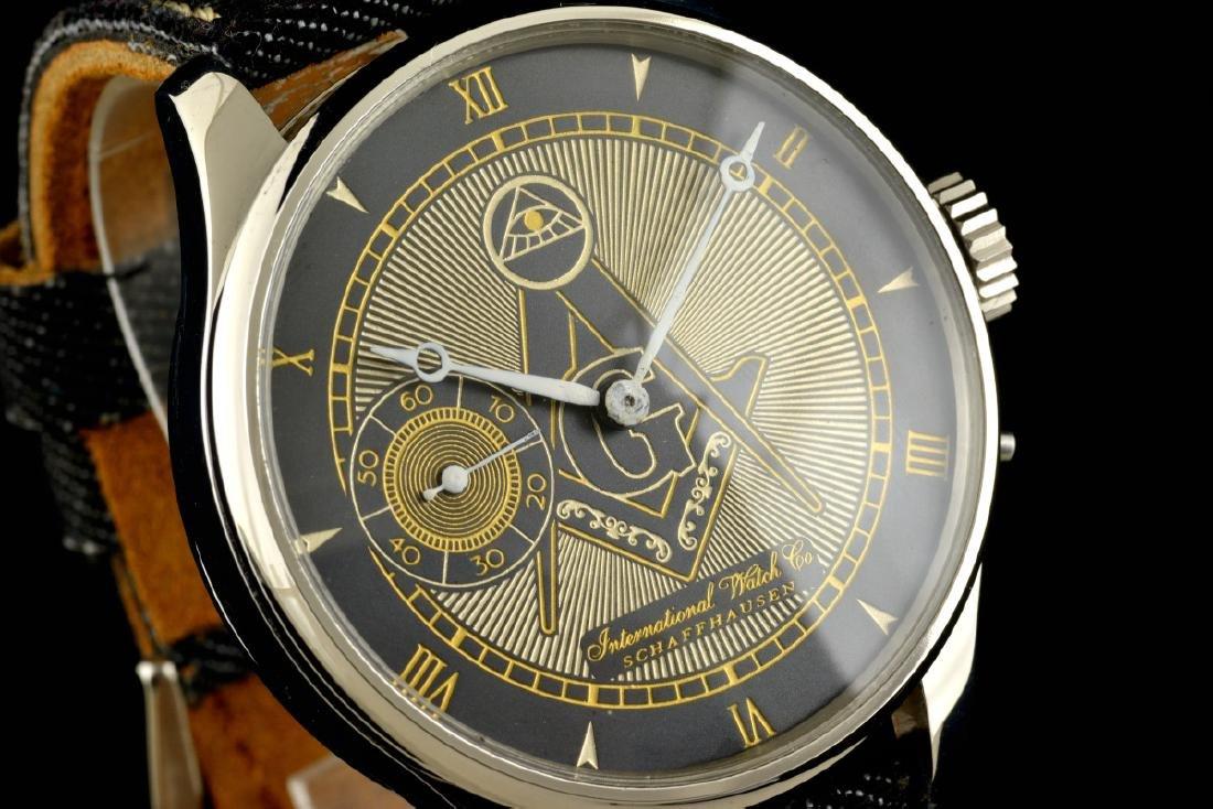 IWC International Watch Co Schaffhausen Masonic - 2