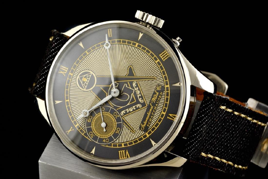 IWC International Watch Co Schaffhausen Masonic - 3