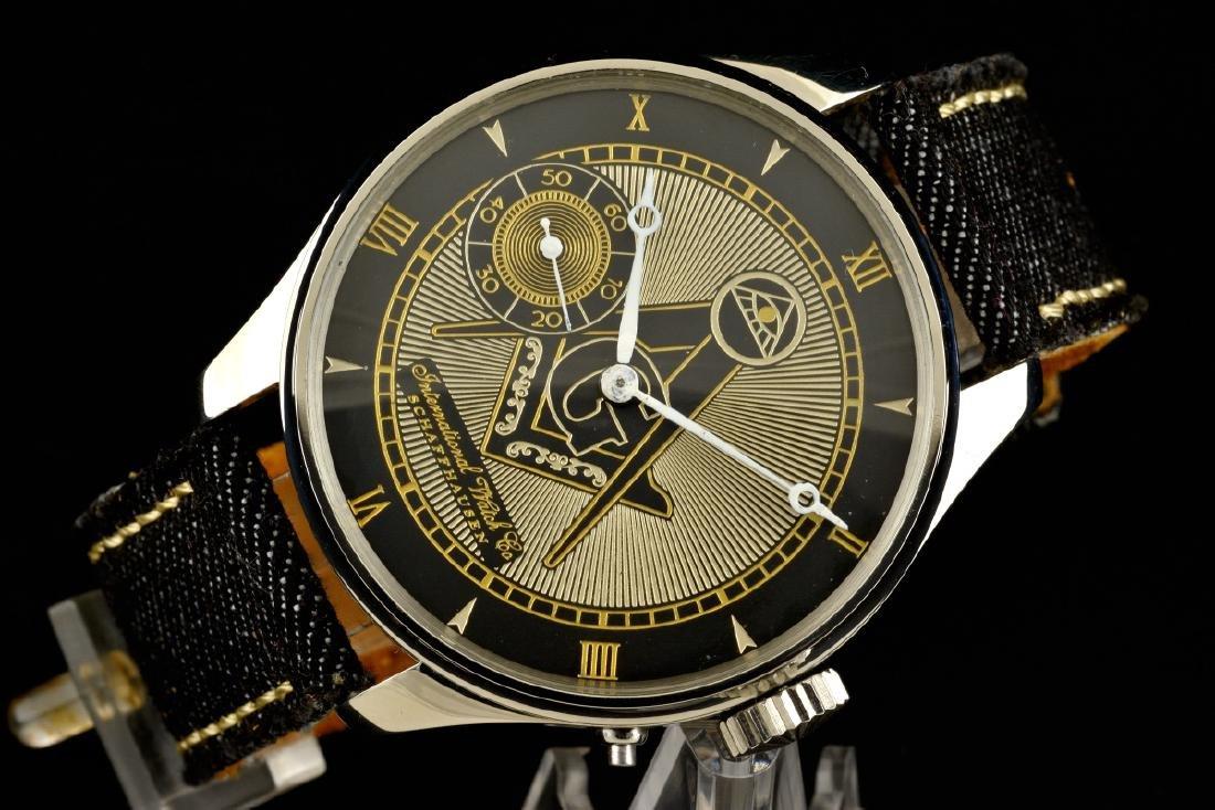 IWC International Watch Co Schaffhausen Masonic - 4