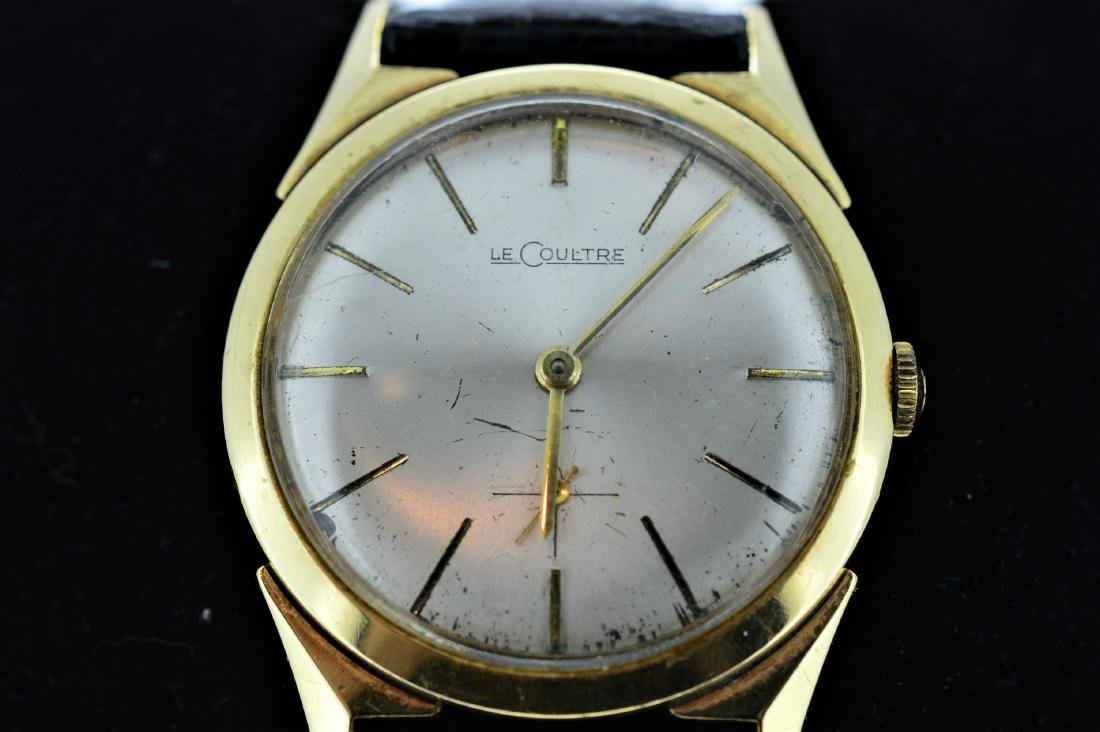 Men's LeCoultre 14k Gold Watch