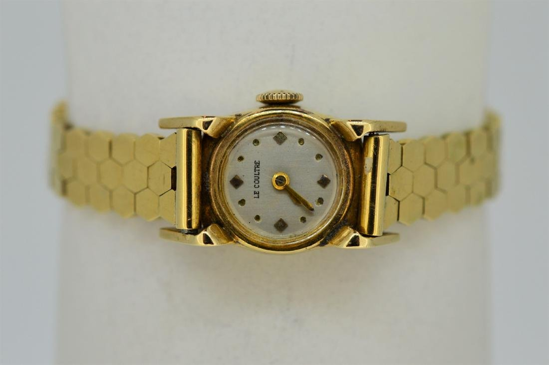 Ladies 14k Yellow Gold LeCoultre Watch