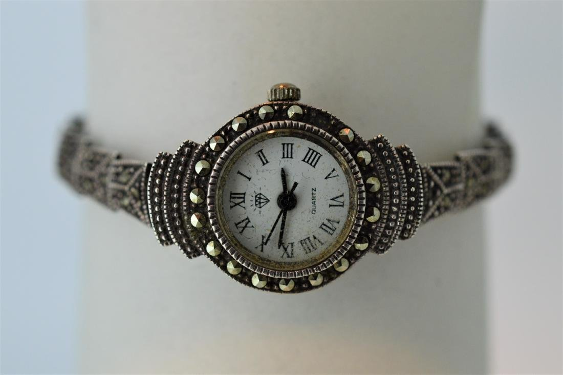Ladies Vintage Marcasite Wristwatch