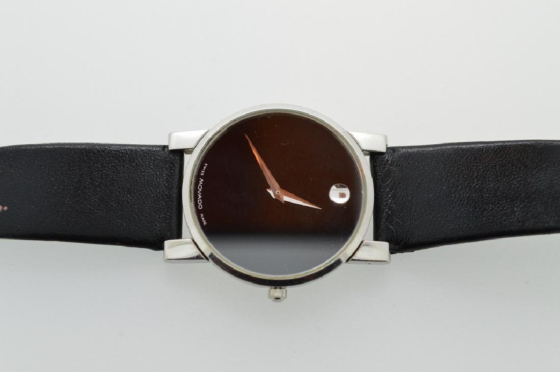 Authentic Movado Museum Wristwatch