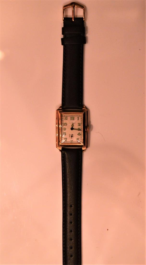 Late 1940's/Early 1950's Movado 14k Yellow Gold Watch