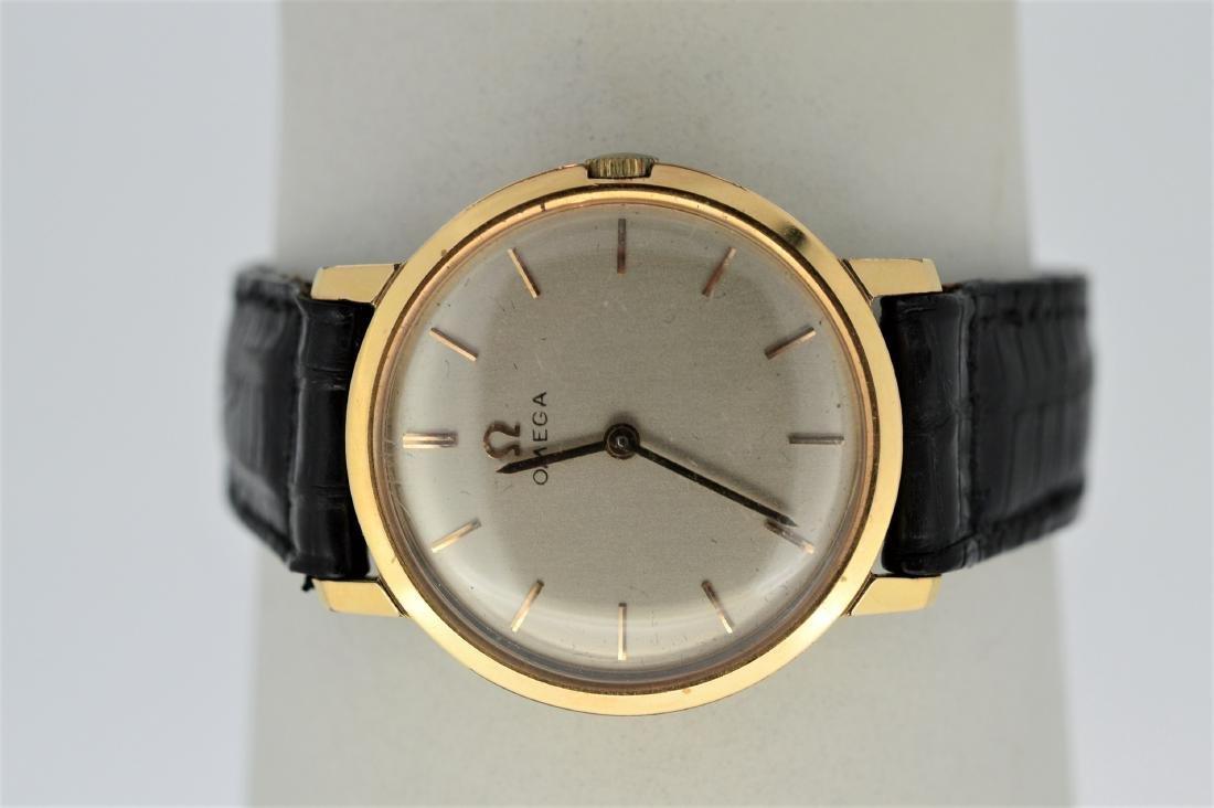 Ladies Vintage Gold Top Omega 520