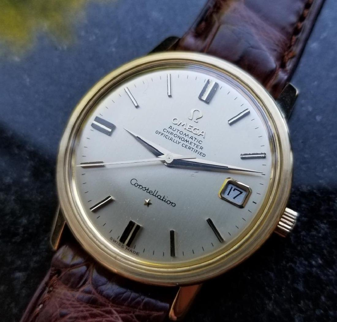 Omega Constellation Chronometer Automatic 1960s Solid