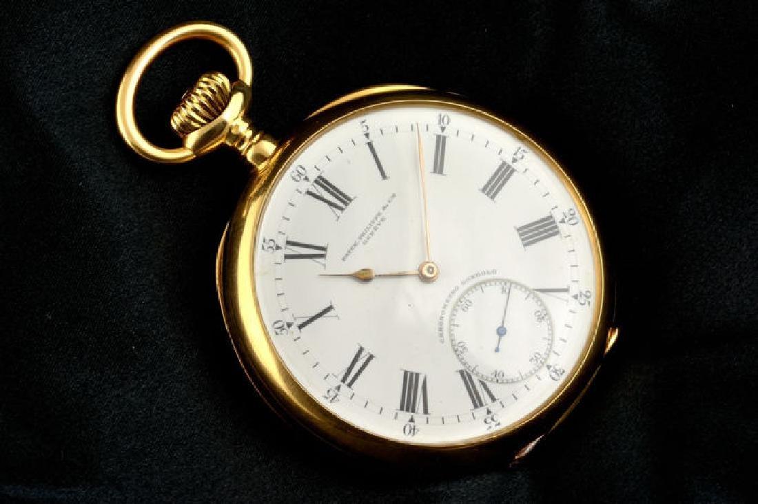 Patek Philippe 18k Chronometro Gondolo