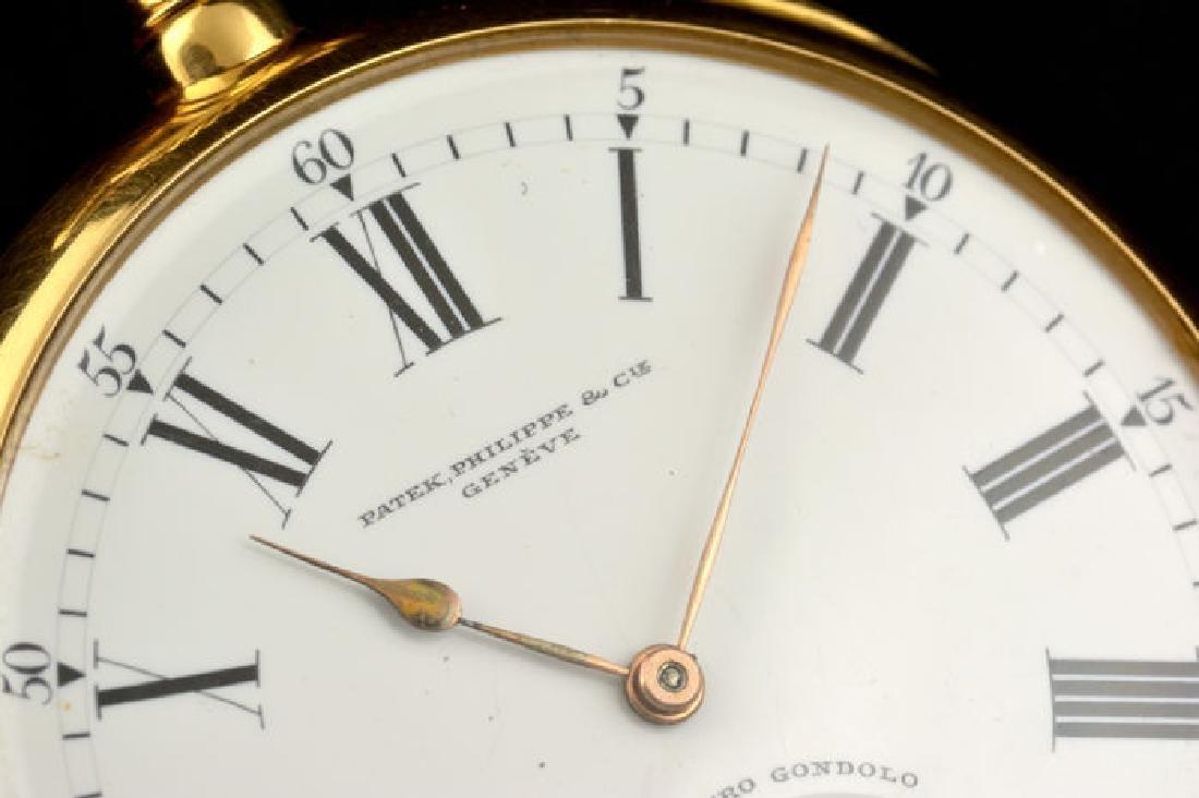 Patek Philippe 18k Chronometro Gondolo - 7