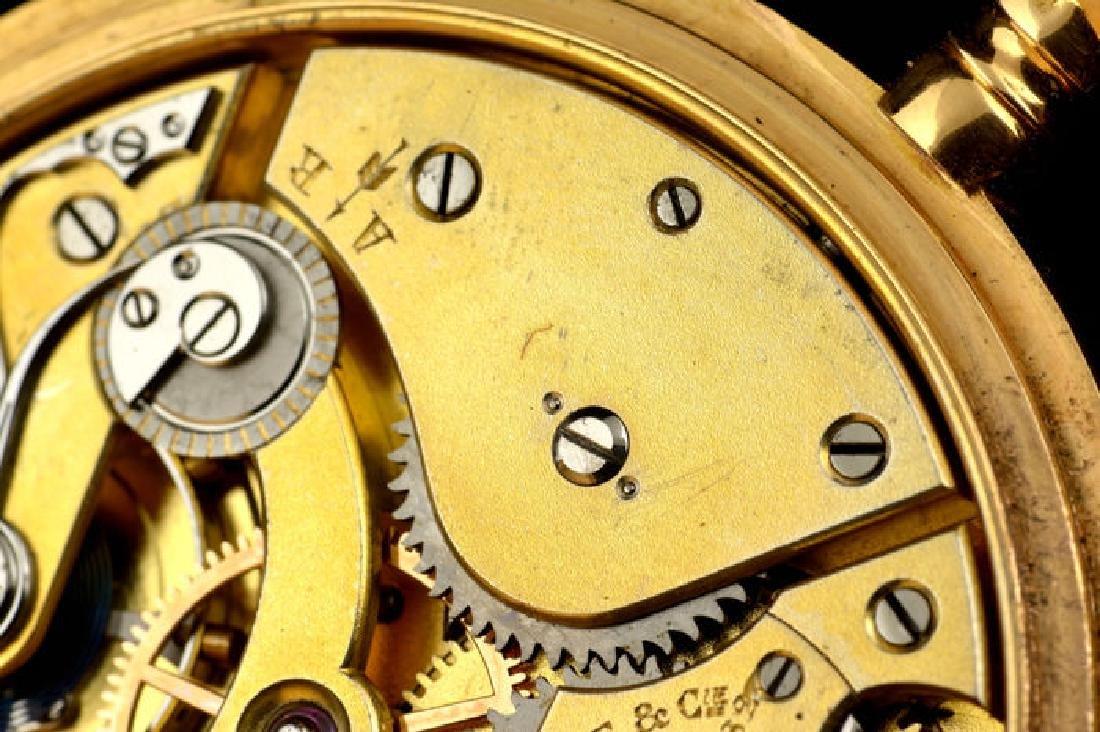 Patek Philippe 18k Chronometro Gondolo - 9