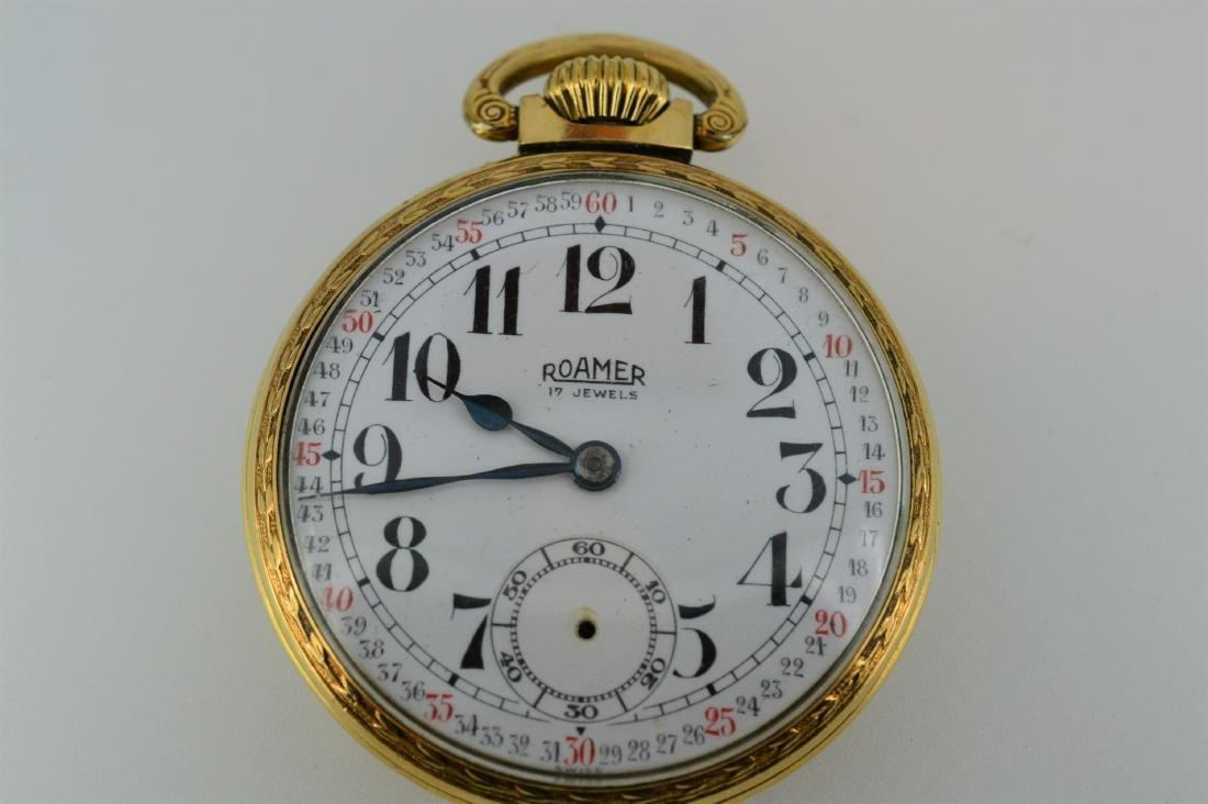 Roamer Brass Pocketwatch