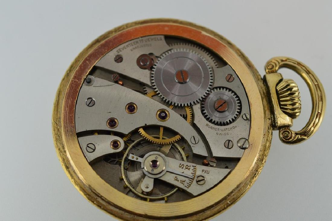 Roamer Brass Pocketwatch - 2