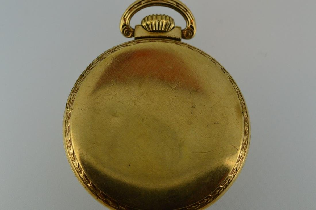 Roamer Brass Pocketwatch - 3