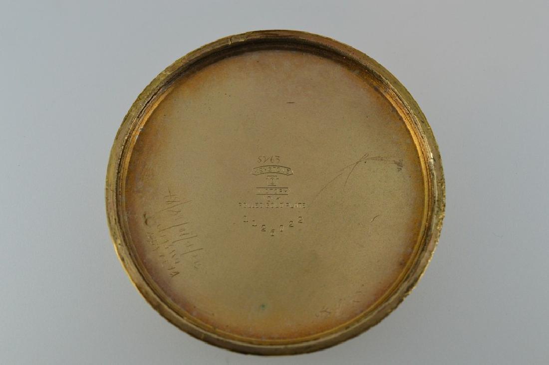 Roamer Brass Pocketwatch - 4