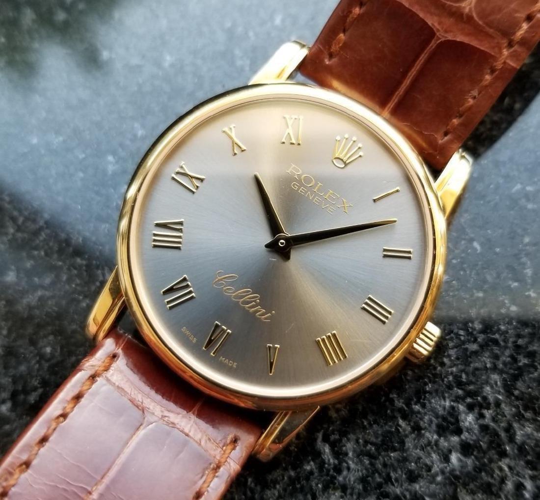 Rolex Cellini 5116 18K Solid Gold 2007 Orig Mens Swiss