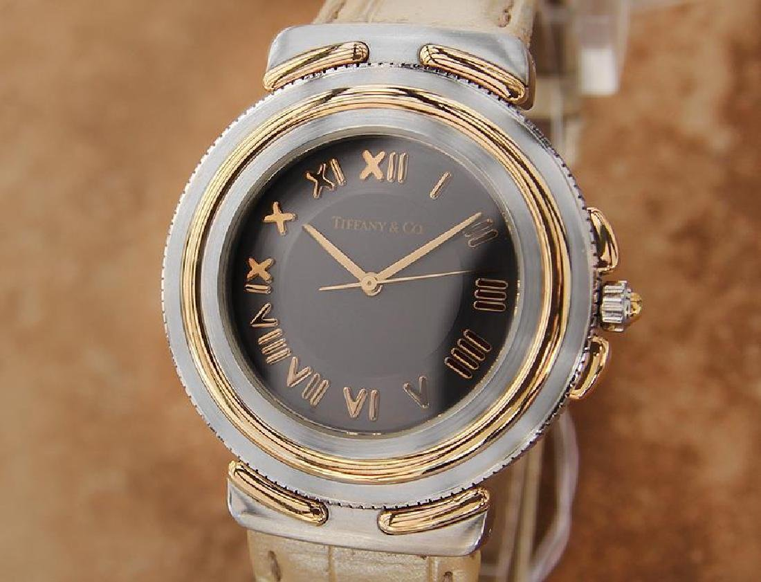 Tiffany and Co Intaglio Swiss Made Quartz Chronograph