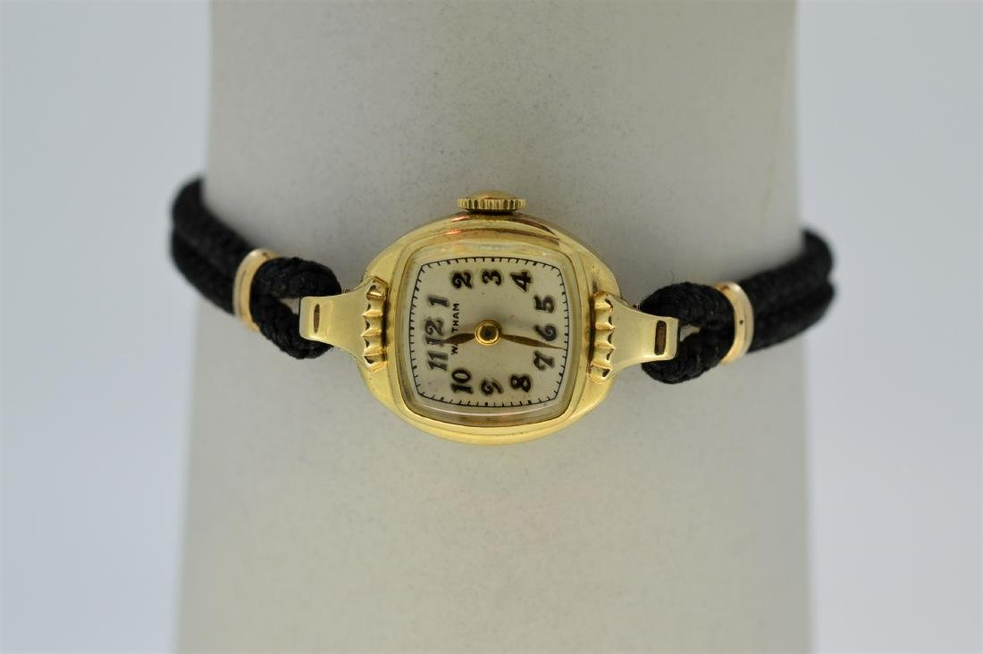 Ladies 14k Yellow Gold Waltham Watch