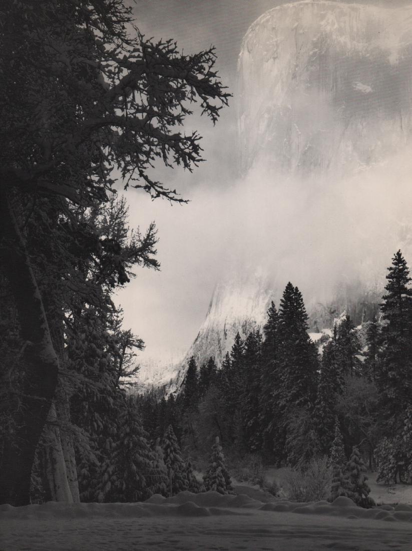 ANSEL ADAMS - El Capitan, Winter Morning