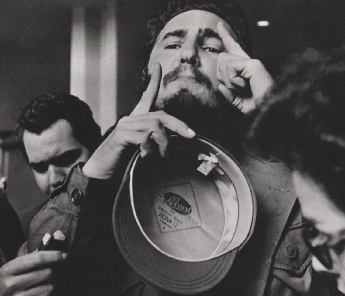 ALFRED EISENSTAEDT - Fidel Castro