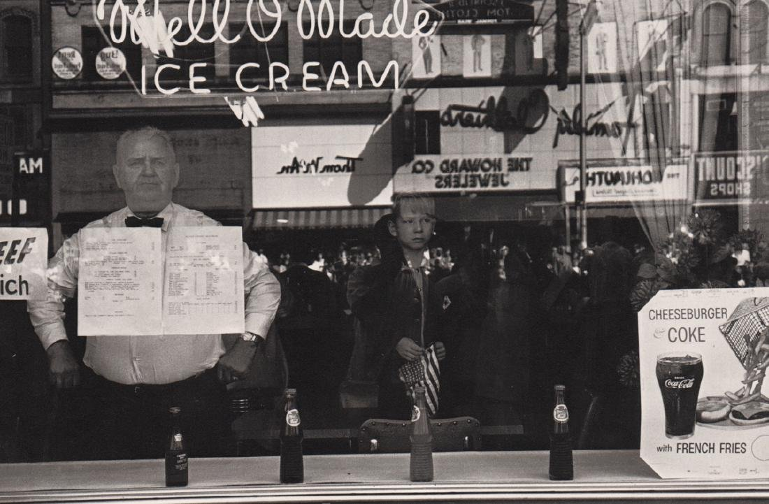 LEE FRIEDLANDER - Newark, New Jersey 1962