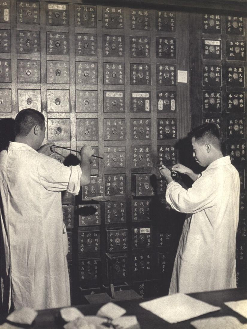 ERGY LANDAU -  In an old Pharmacy in China