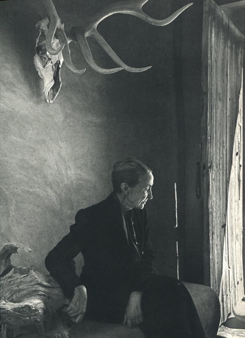 YOUSUF KARSH - Georgia O'Keeffe