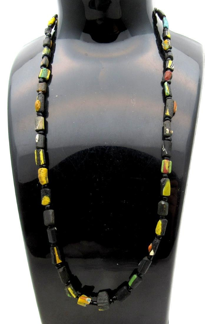 Medieval Viking Era Necklace with 39 Glass Beads