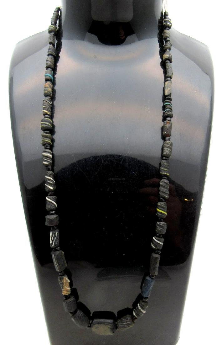 Medieval Viking Era Necklace with 38 Glass Beads
