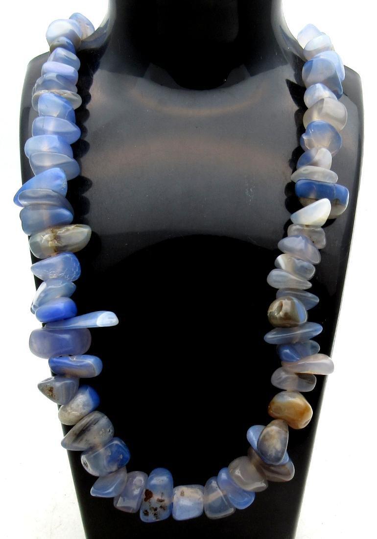 Near Eastern Lapis Lazuli Beaded Necklace
