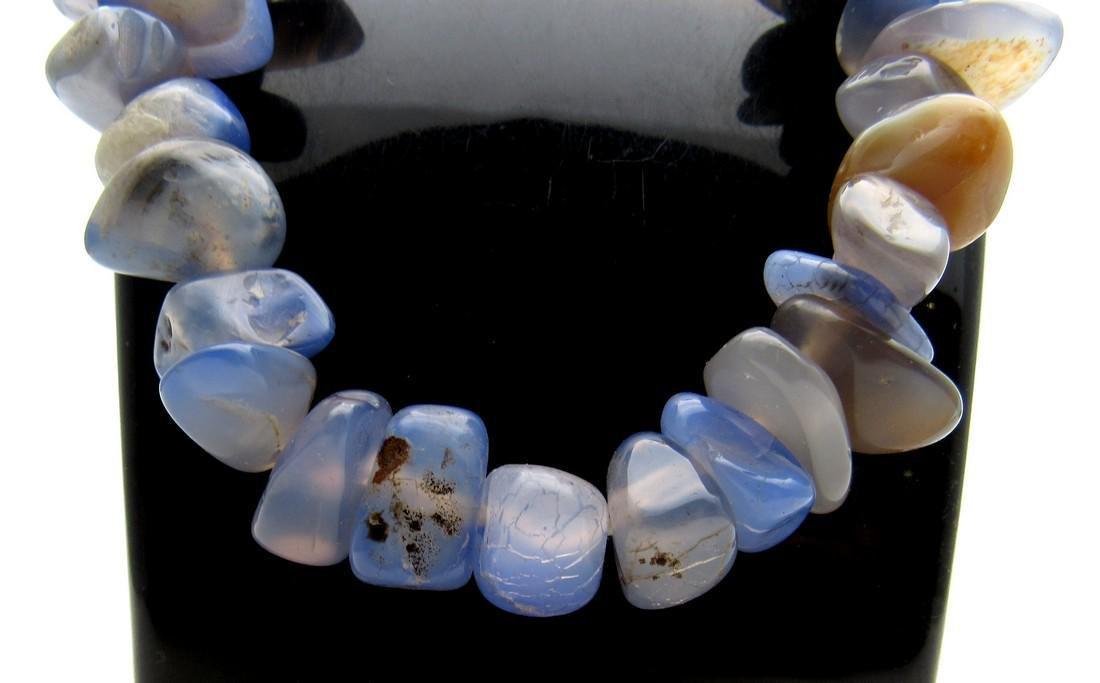 Near Eastern Lapis Lazuli Beaded Necklace - 2