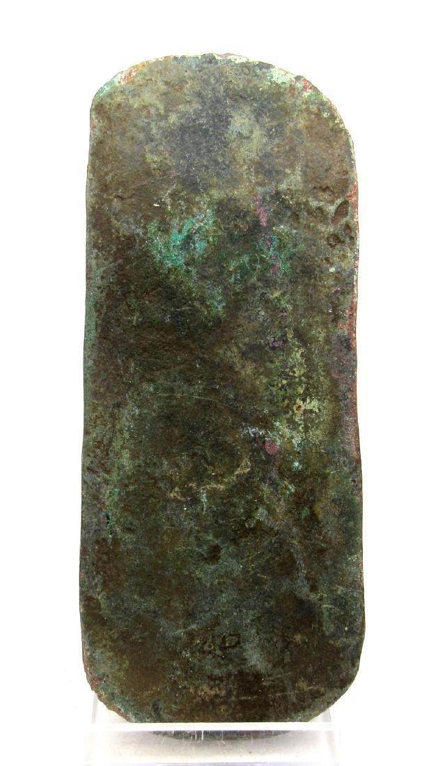 Ancient Celtic Bronze Age Flat Axe