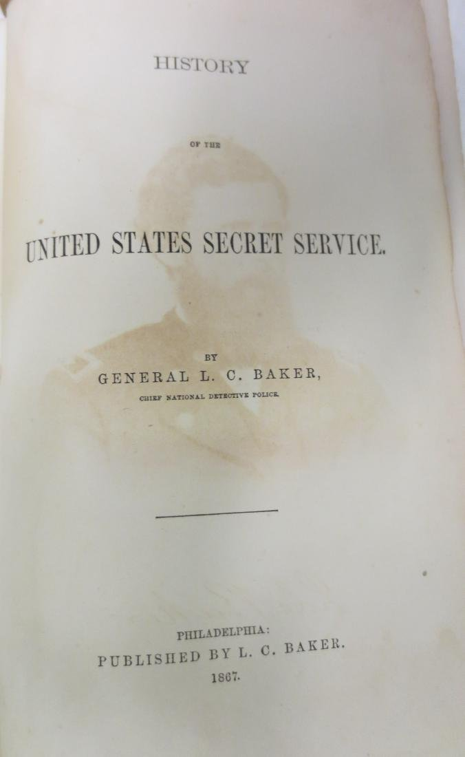 History of the United States Secret Service General L. - 2
