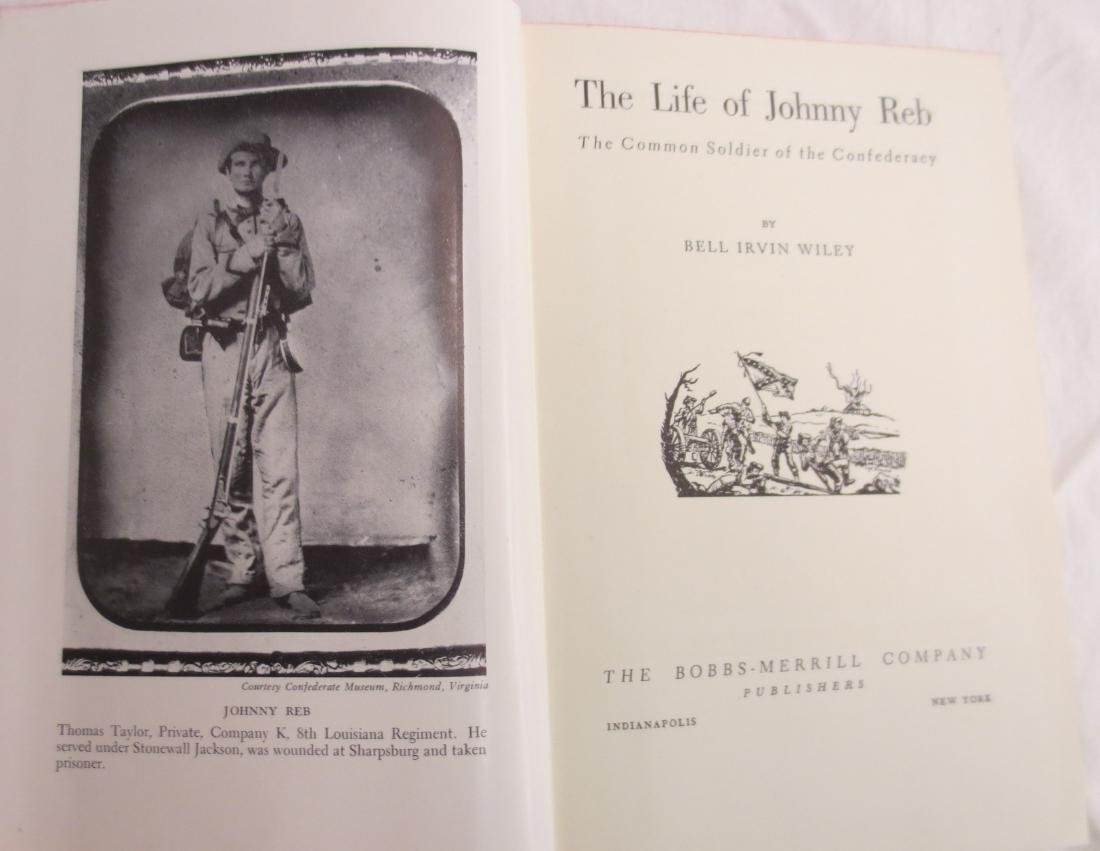 The Life of Johnny Reb Bell Irvin Wiley - 2