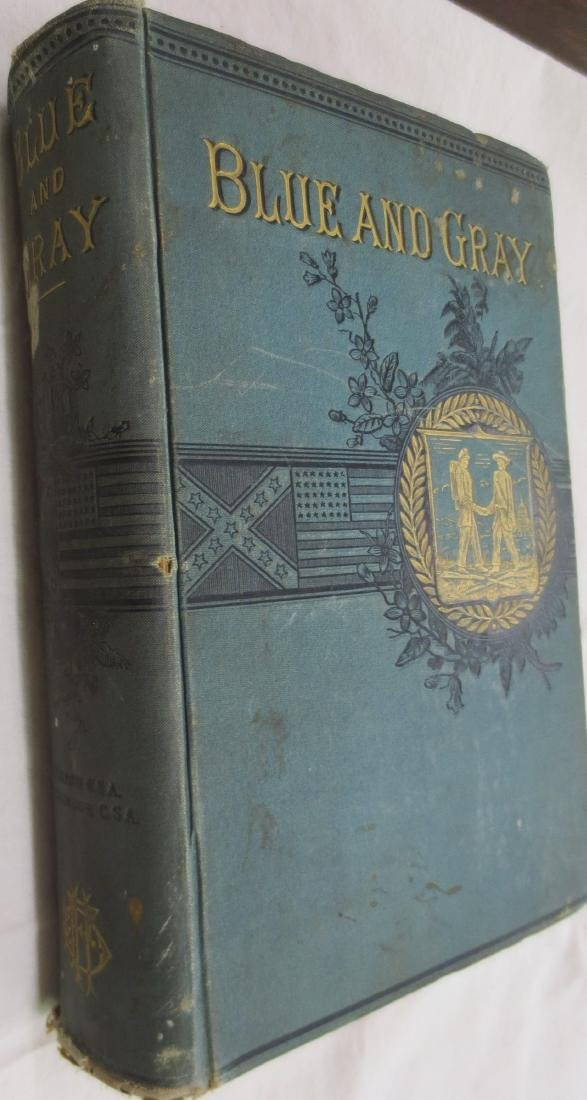 The Blue and the Gray (GREEN COVER) Theodore Gerrish