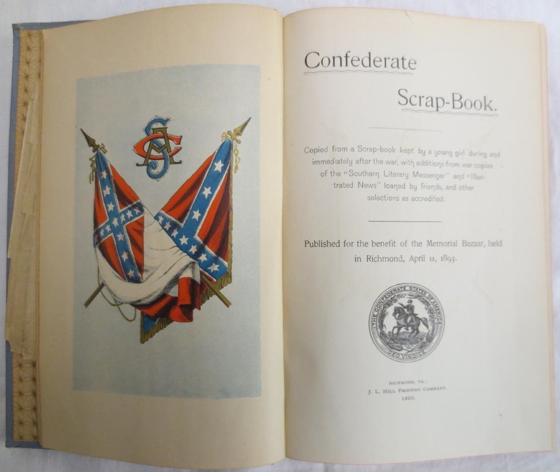 Confederate Scrap Book Lizzie Cary Daniel - 2