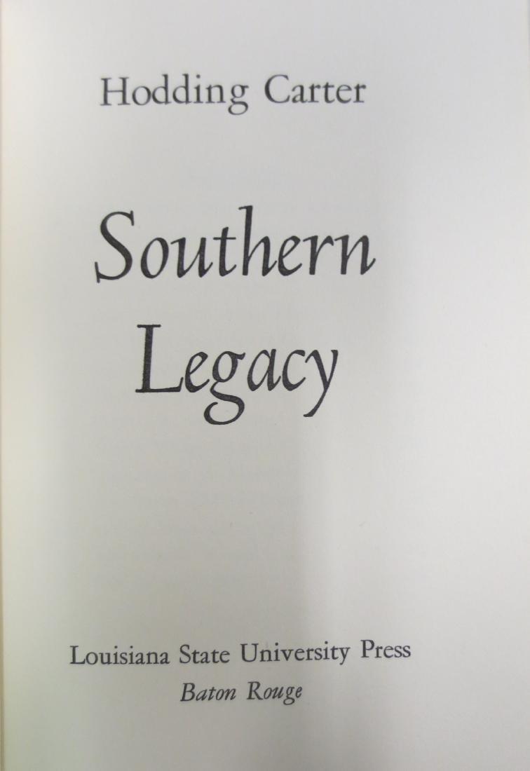 Southern Legacy Hodding Carter - 2