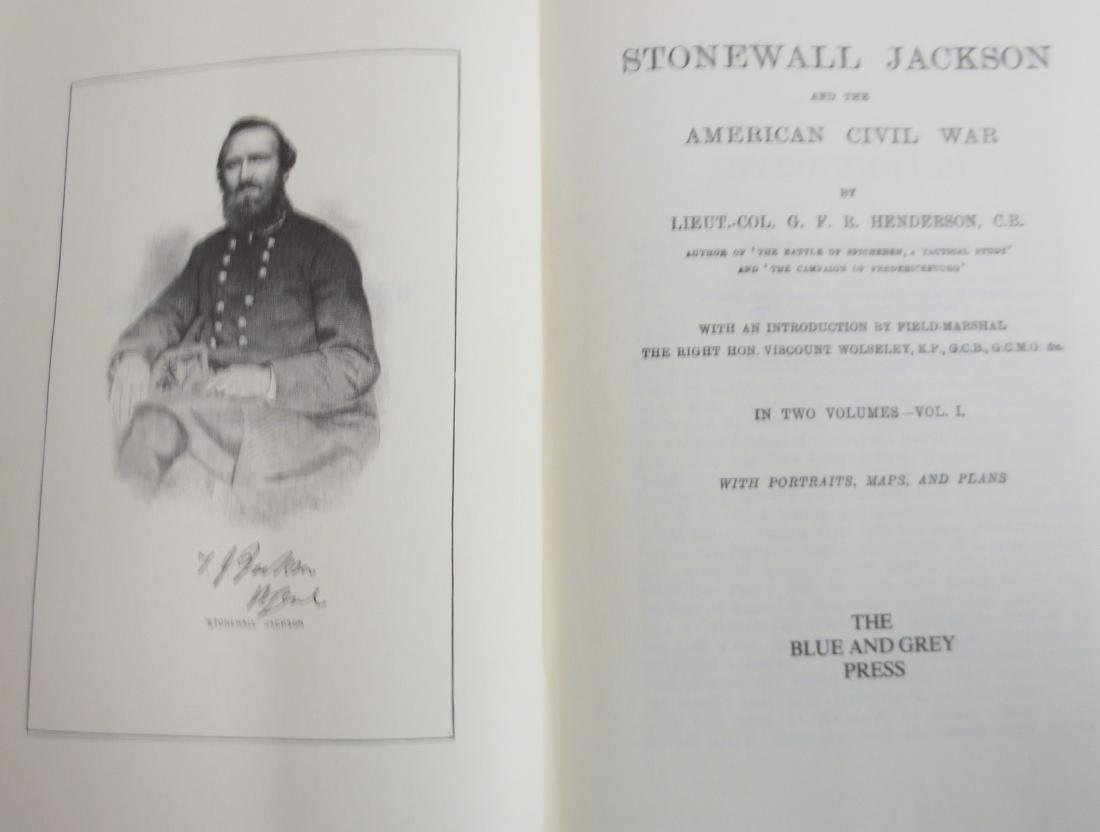 Stonewall Jackson and the American Civil War; Volumes 1 - 2