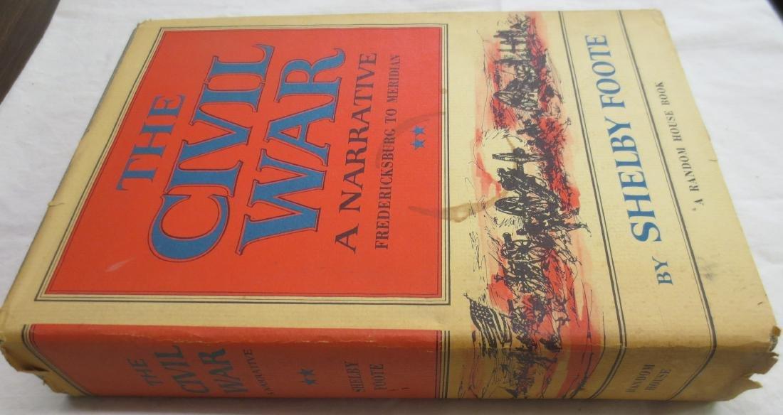 The Civil War; A Narrative Fredericksburg to Meridian