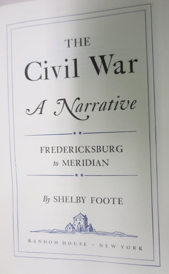 The Civil War; A Narrative Fredericksburg to Meridian - 2