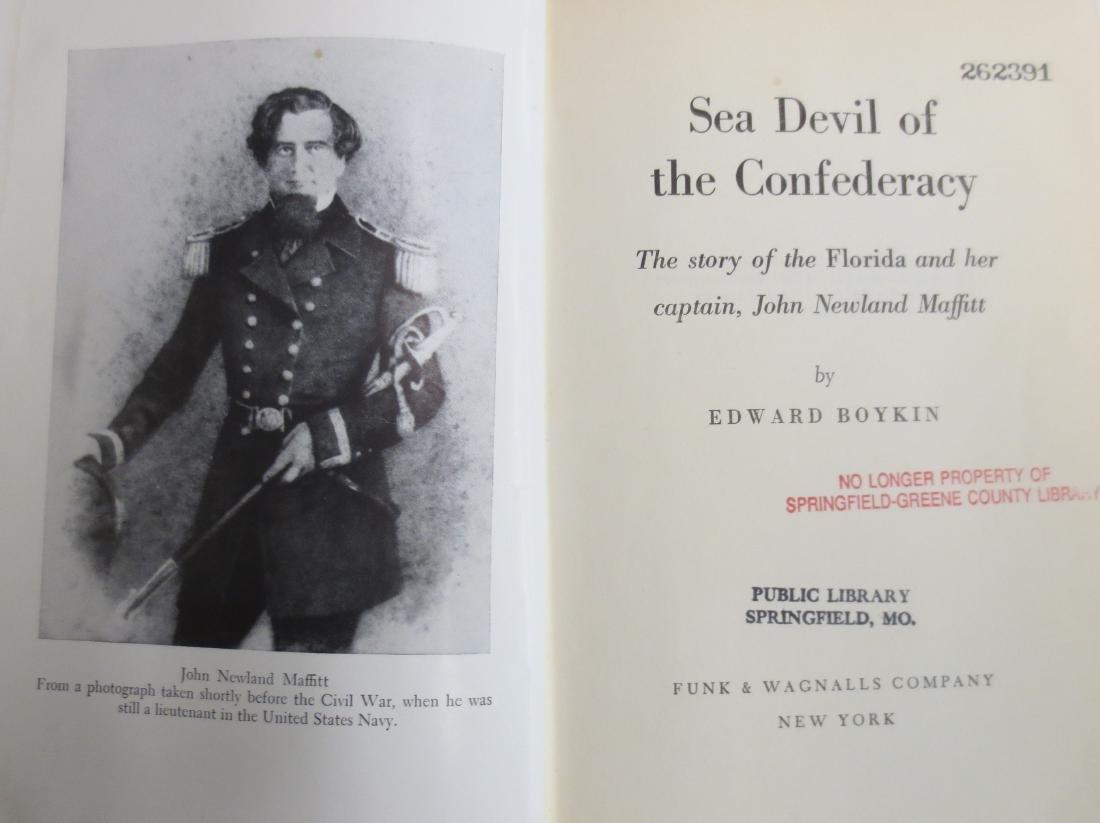 Sea Devil of the Confederacy Edward Boykin - 2