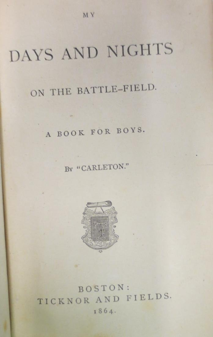 My Days and Nights on the Battle-Field Charles Carleton - 2
