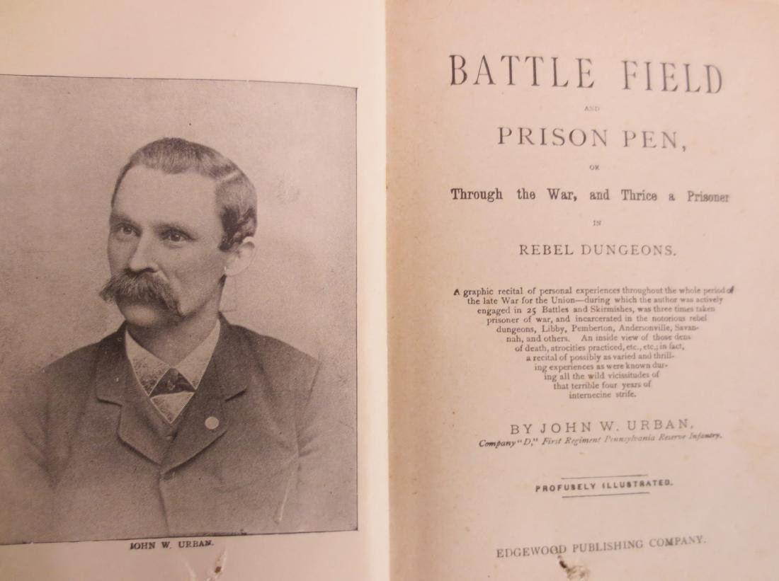 Battlefield Prison Pen or Thrice a Prisoner in Rebel - 2