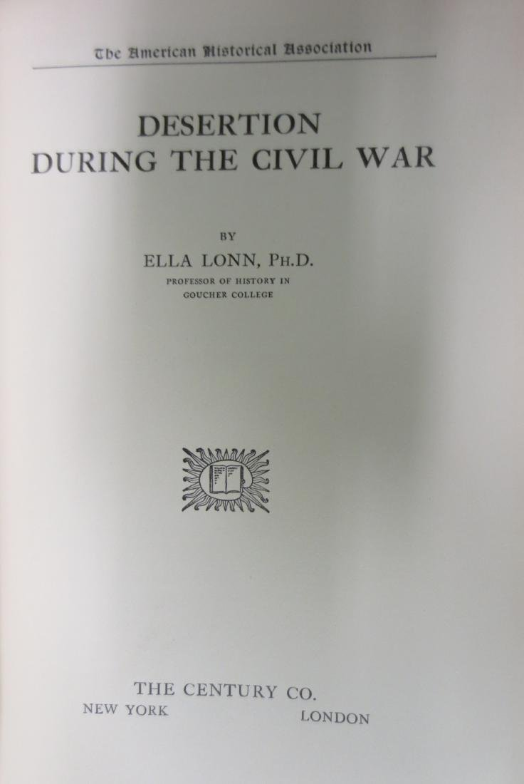 Desertion During the Civil War Ella Lonn - 2