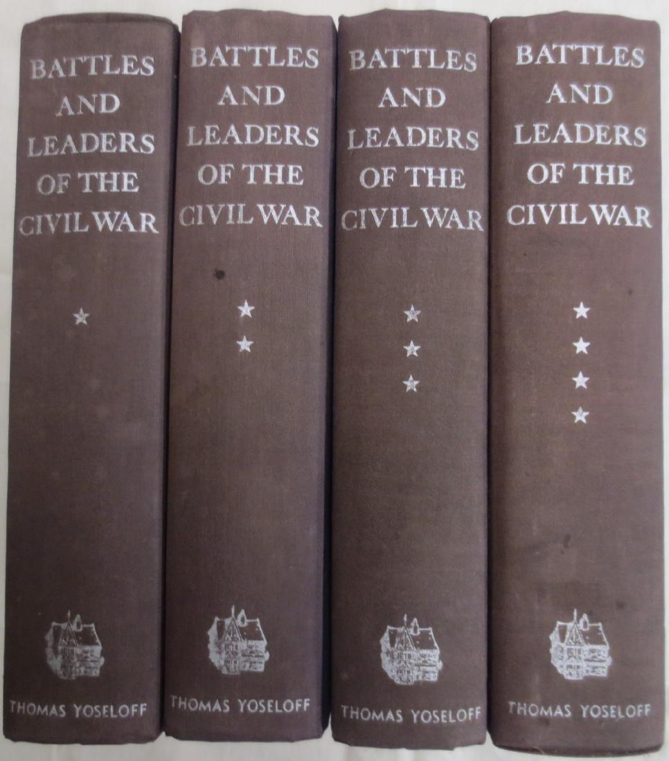 Battles and Leaders of the Civil War Volumes 1thru 4