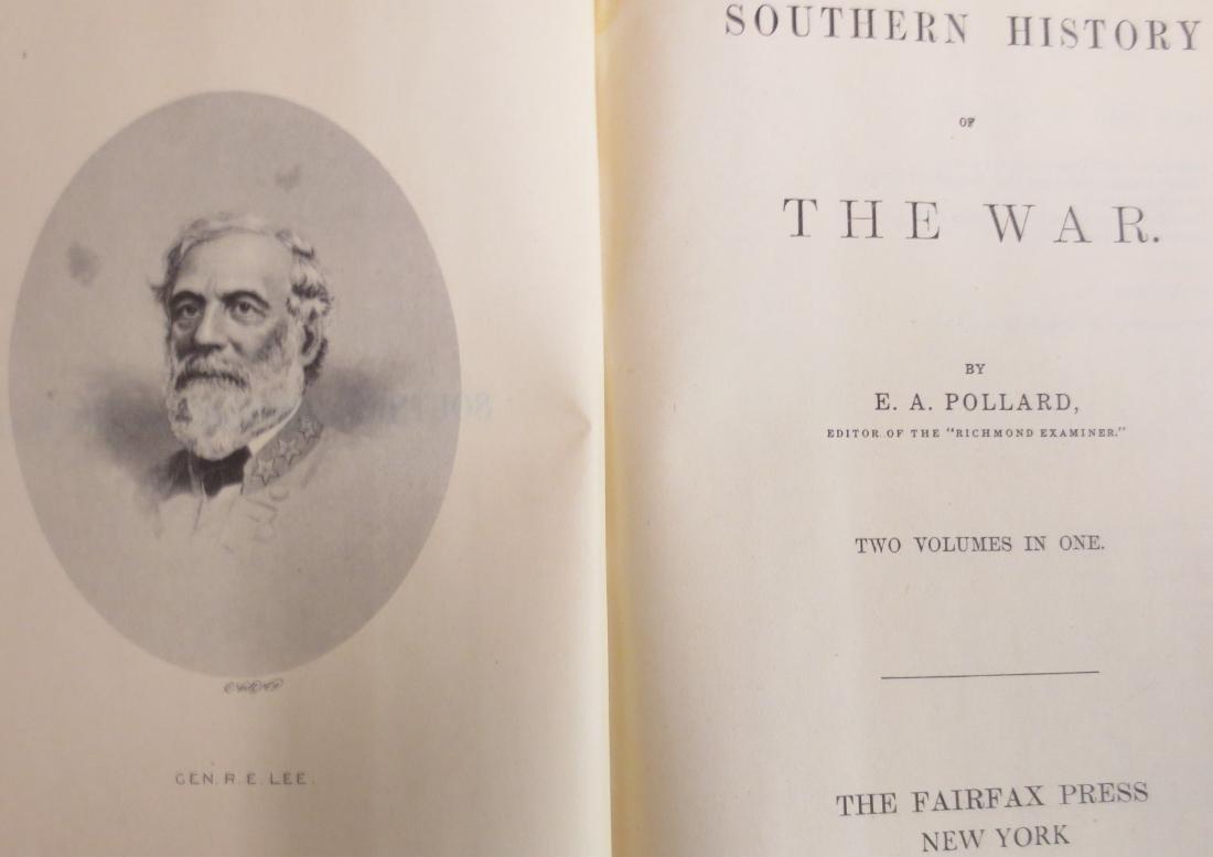 Southern History of the War Edward A. Pollard - 2