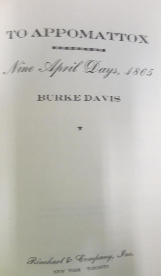 To Appomattox: Nine April Days, 1865 Burke Davis - 2